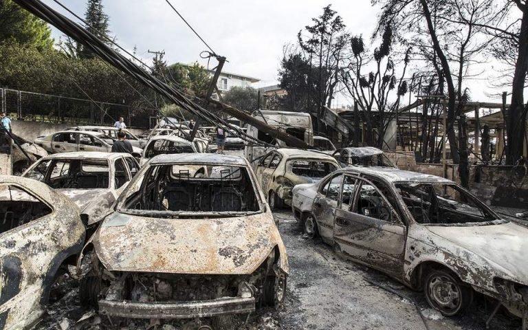 Πυρκαγιά στο Μάτι: Απερρίφθη για τρίτη φορά το αίτημα αναβάθμισης του κατηγορητηρίου