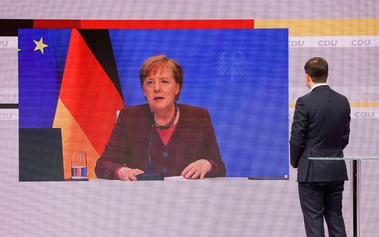 Η αποχαιρετιστήρια ομιλία της Μέρκελ στο CDU