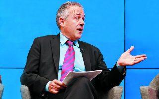 «Τα επόμενα τέσσερα χρόνια θα είναι κρίσιμα για τις προοπτικές της δυτικής δημοκρατίας ευρύτερα», λέει ο κ. Λους. Φωτ.Paul Morigi