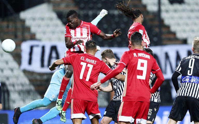 Αντεξε την πίεση, πλησίασε τον τίτλο: ΠΑΟΚ – Ολυμπιακός 1-1