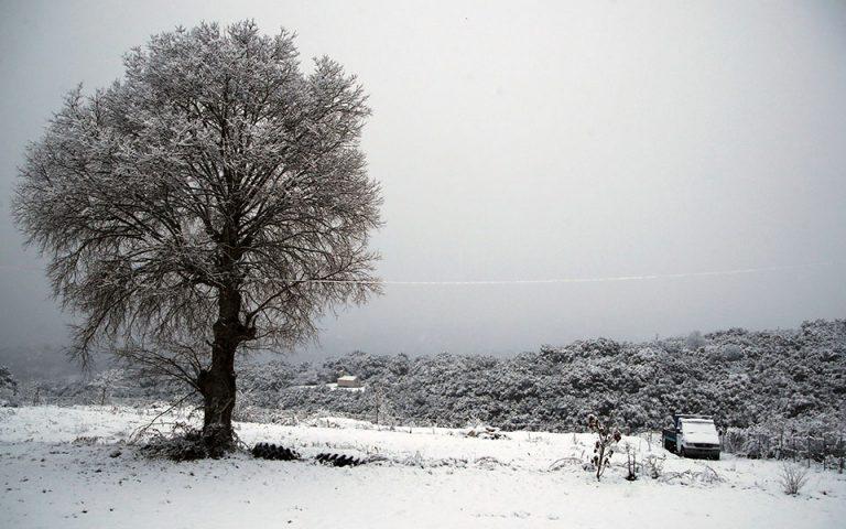 Χιόνια και ισχυρό ψύχος φέρνει η δεύτερη φάση της κακοκαιρίας