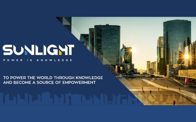 Η SUNLIGHT απεικονίζει τη νέα στρατηγική της μέσα από νέα εταιρική εικόνα