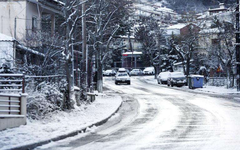Κλειστά σχολεία στη Δυτική Μακεδονία και την Τετάρτη
