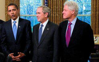 Τρεις πρώην πρόεδροι των ΗΠΑ, ο Barak Obama, ο George W. Bush και ο Bill Clinton, δεσμεύτηκαν ότι θα κάνουν δημόσια το εμβόλιο για παραδειγματισμό. Αλλά αυτοί σίγουρα δεν γνωρίζουν αυτά που ξέρει ο νομικός Μαυραγάνης και ο τραγουδιστής Θαλασσινός.