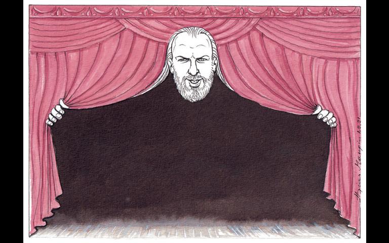 Σκίτσο του Ηλία Μακρή (02/02/21)