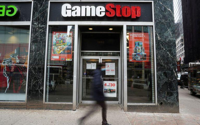 Ξεθωριάζει η μετοχή της GameStop στη Wall Street