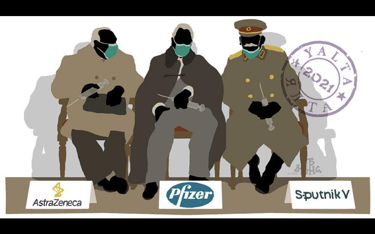 Σκίτσο του Δημήτρη Χαντζόπουλου (04/02/21)