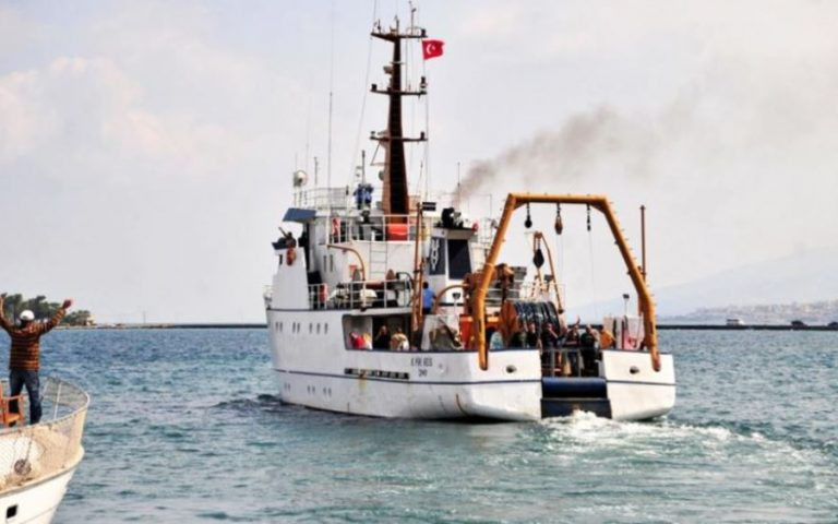 Τουρκική Navtex για υδρογραφικές έρευνες με το «Τσεσμέ»