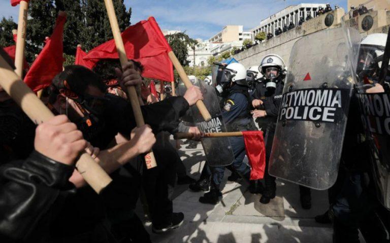 Πανεκπαιδευτικό συλλαλητήριο: Στον Εισαγγελέα οι συλληφθέντες των επεισοδίων
