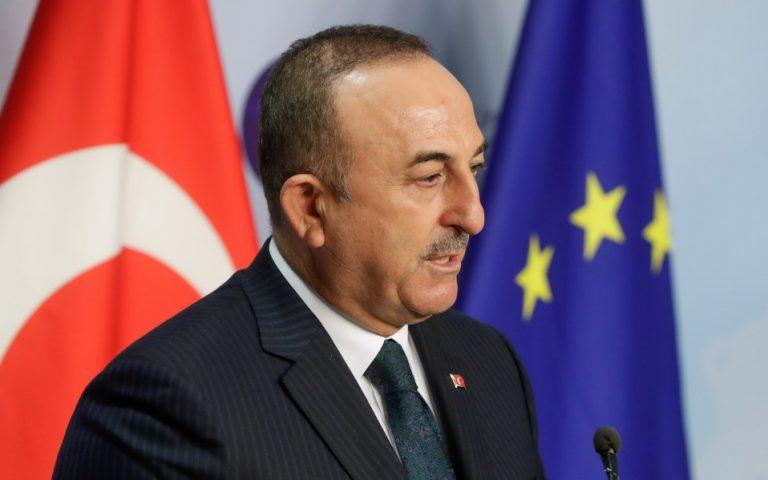 Τσαβούσογλου για κυπριακό: Εκτός συζήτησης η ομοσπονδία