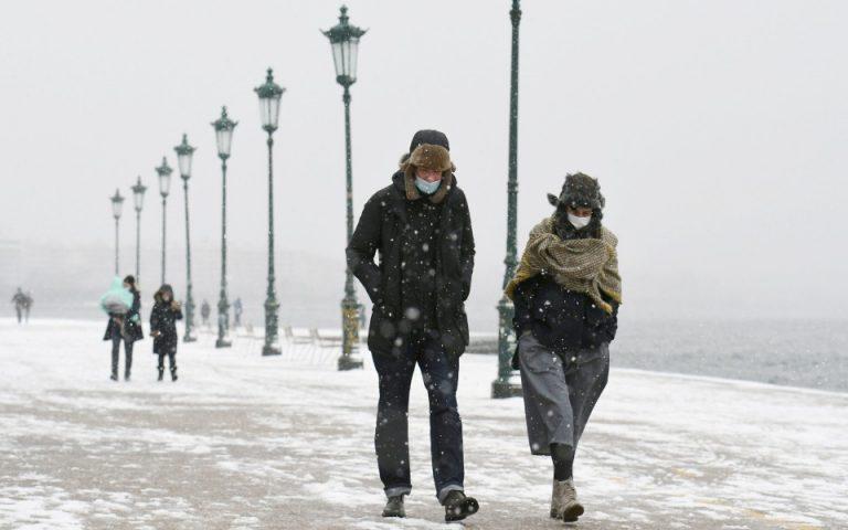 Πολικές θερμοκρασίες και ισχυρός παγετός στη Βόρεια Ελλάδα
