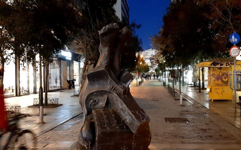 Οδοιπορικό της «Κ» στην άδεια Αθήνα (εικόνες)
