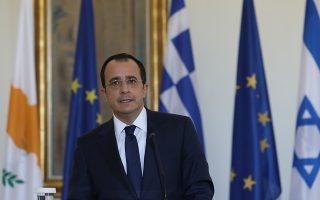 Ο Κύπριος ΥΠΕΞ, Νίκος Χριστοδουλίδης (ΙΝΤΙΜΕ ΝΕWS)