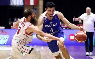 Η Εθνική έχοντας ήδη εξασφαλίσει τη συμμετοχή της στο EuroBasket 2022, θα δώσει χρόνο συμμετοχής και στα νέα παιδιά (φωτ. INTIMENEWS).