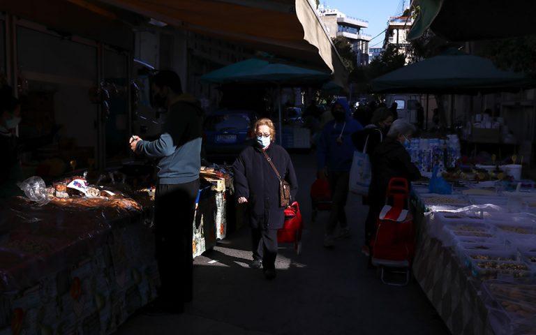 Κανονικά οι λαϊκές αγορές σε Αθήνα και Θεσσαλονίκη το Σάββατο