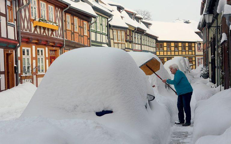 Συνηθισμένη στα χιόνια