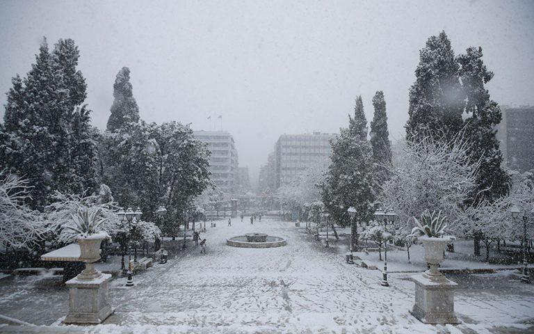 Οι Αθηναίοι ξύπνησαν σε «αλπικό» τοπίο