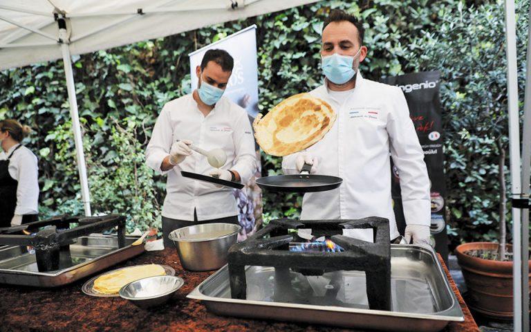 Η Γιορτή της Κρέπας τιμήθηκε με τον δέοντα τρόπο στη γαλλική πρεσβεία