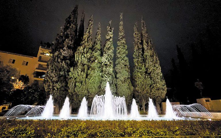 Επαναλειτουργούν 34 σιντριβάνια στην Αθήνα