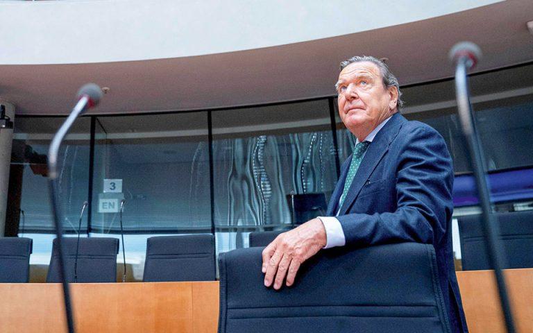 Γκέρχαρτ Σρέντερ: «Κυρίαρχη δύναμη στην Ανατ. Μεσόγειο η Τουρκία»