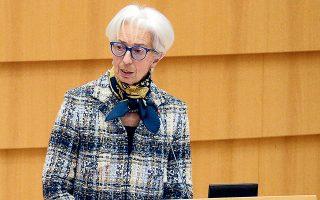 Το Ταμείο των 750 δισ. ευρώ «θα μπορούσε να συμβάλει στην αύξηση της μεγέθυνσης του ευρωπαϊκού ΑΕΠ ακόμα και φέτος», τόνισε στην ολομέλεια του Ευρωκοινοβουλίου η Κριστίν Λαγκάρντ (φωτ. Reuters ).