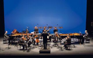 Η Ergon Ensemble στις συναυλίες «Ο επαναπατρισμός της Διασποράς», που πραγματοποιεί από κοινού με το Μέγαρο Μουσικής.