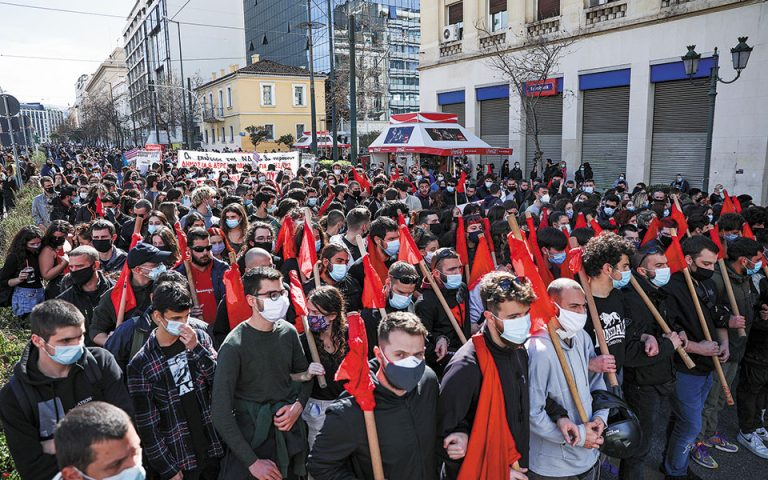 Πολιτική αντιπαράθεση για τις διαδηλώσεις