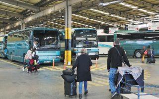 Οι σταθμοί Κηφισού και Λιοσίων, που εξυπηρετούν σήμερα την πρωτεύουσα, φιλοξενούν συνολικά 49 γραμμές και δέχονται έναν ημερήσιο φόρτο που κυμαίνεται από 24.000 έως 44.000 επιβάτες. Το νέο έργο αναμένεται να αλλάξει τη συγκοινωνιακή εικόνα της Αθήνας (φωτ. INTIME NEWS).