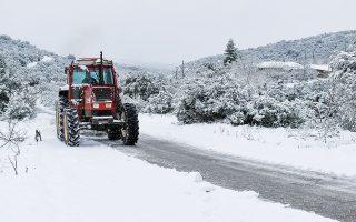 Η κακοκαιρία αναμένεται να ξεκινήσει το Σάββατο στα ορεινά και ημιορεινά της Βόρειας Ελλάδας. Την Κυριακή οι πυκνές χιονοπτώσεις θα επεκταθούν και στην υπόλοιπη χώρα (φωτ. INTIME NEWS).