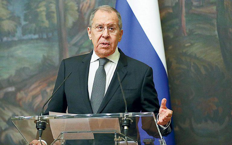 Έτοιμη για ρήξη με Ε.Ε. η Μόσχα, λέει ο Λαβρόφ