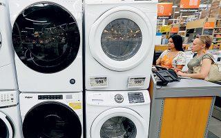 Tα αιτήματα για αγορές πλυντηρίων και ψυγείων με δόσεις ήταν κατά μέσον όρο 5 την ημέρα, ενώ μετά την περίοδο του καλοκαιριού ο αριθμός αυτός εκτοξεύθηκε στα 25 την ημέρα.
