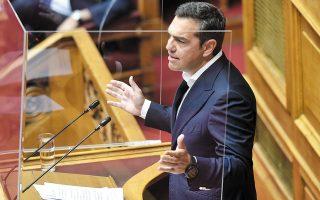 Ο πρόεδρος του ΣΥΡΙΖΑ αισθάνεται δικαιωμένος για τον τρόπο με τον οποίο το κόμμα χειρίστηκε το νομοσχέδιο για τα ανώτατα ιδρύματα. (Φωτ. INTIME NEWS)