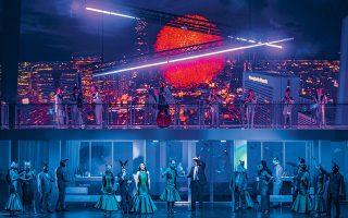 «Ντον Τζοβάννι» στη διεθνή συμπαραγωγή της Εθνικής Λυρικής Σκηνής με την Οπερα του Γκέτεμποργκ και τη Βασιλική Οπερα της Δανίας, μέσω της GNO TV (φωτ. ΑΝΔΡΕΑΣ ΣΙΜΟΠΟΥΛΟΣ).