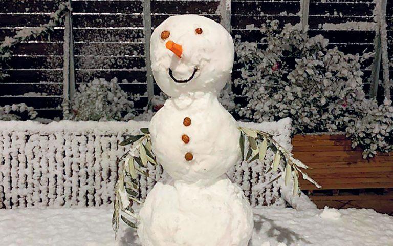 Συμβουλές για να χαρούμε τον χιονιά από τον Νορβηγό πρέσβη στην Αθήνα