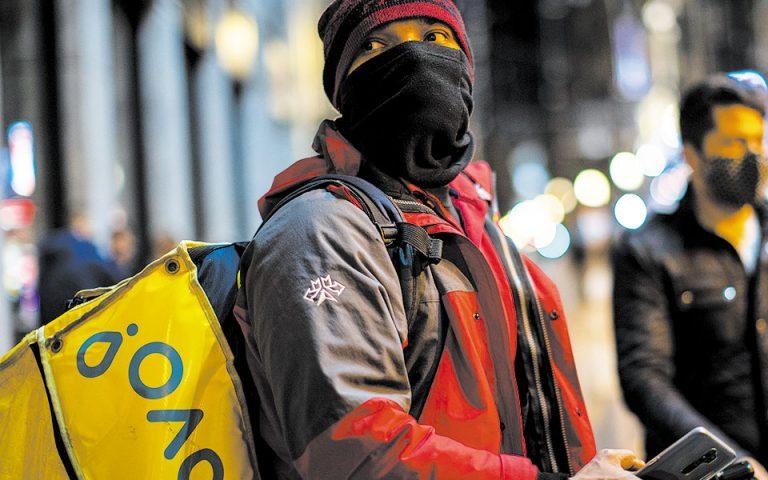 Ισπανία: αλλάζει το εργασιακό καθεστώς στo delivery