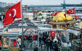 Την ανιούσα έχουν πάρει ιδιαίτερα οι τιμές των τροφίμων στην Τουρκία.