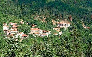 Ο Αθανάσιος Διάκος είναι από τα ωραιότερα ορεινά χωριά.