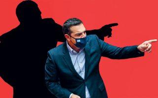 Με το χέρι προτεταμένο στην κατεύθυνση του ηθικού πλεονεκτήματος, ο Αλέξης Τσίπρας δεν σταματάει να μαγεύεται από το ίδιο του το παραμύθι.