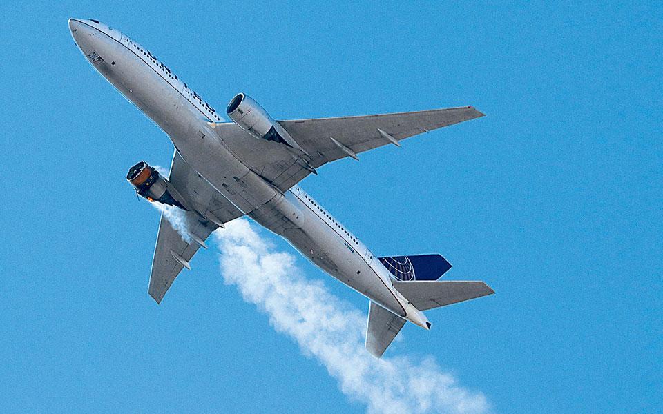 Καθηλώνονται τα Boeing 777 για έλεγχο των κινητήρων τους