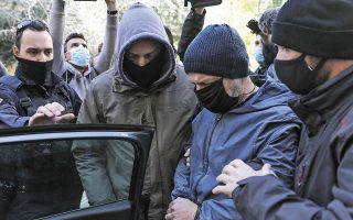 Ο Δημήτρης Λιγνάδης έλαβε χθες προθεσμία για να προετοιμάσει την απολογία του, η οποία αναμένεται σήμερα να είναι πολύωρη. (Φωτ. INTIME NEWS)