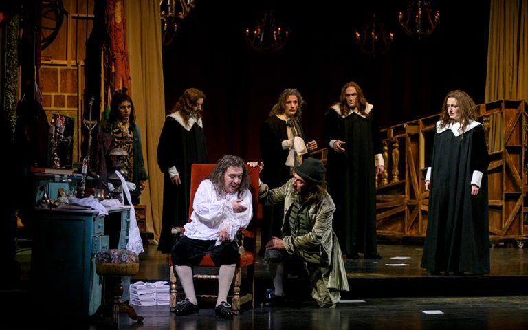 «Μολιέρος» του Μιχαήλ Μπουλγκάκοφ σε live streaming ζωντανά από το Εθνικό Θέατρο