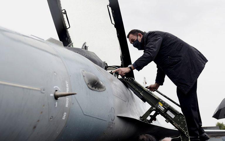 Αναχωρεί για ΗΠΑ το F-16 Viper