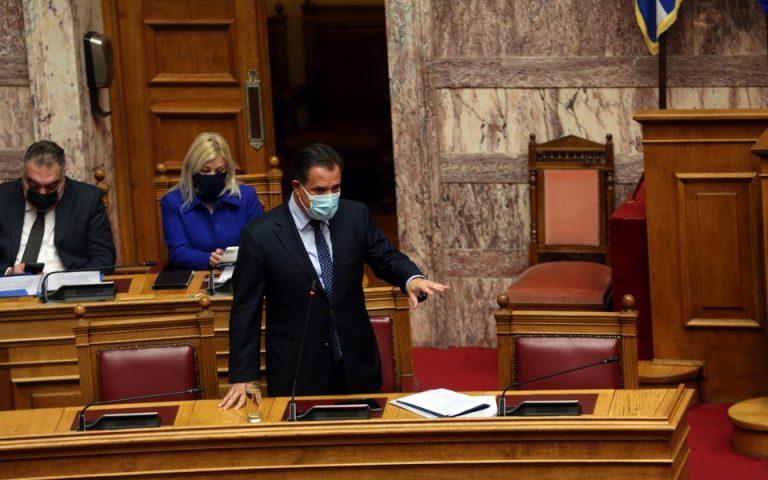 Αδ. Γεωργιάδης: Ίσως τον Μάιο να ανοίξουν χώροι και υπηρεσίες δεξιώσεων