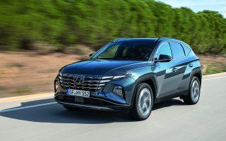 Είναι το πρώτο SUV της Hyundai που εξελίχθηκε βάσει της νέας σχεδιαστικής φιλοσοφίας «Sensuous Sportiness».
