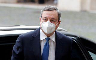 Σήμερα αναμένεται να ανακοινώσει τον σχηματισμό της κυβέρνησής του ο Μάριο Ντράγκι. Φωτ. REUTERS/Yara Nardi.