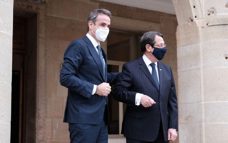 Κυρ. Μητσοτάκης για Κυπριακό: Λύση εντός πλαισίου του ΟΗΕ