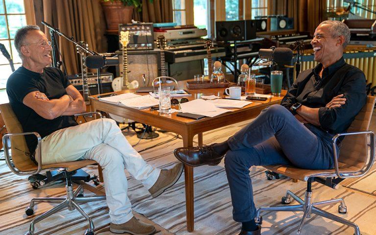 Μπαράκ Ομπάμα και Μπρους Σπρίνγκστιν σε σειρά podcast στο Spotify