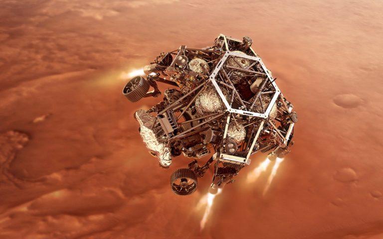 """Το """"Perseverance"""" της NASA ετοιμάζεται για τολμηρή προσεδάφιση στον Άρη"""