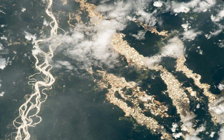Περού: Τα «ποτάμια χρυσού» δεν είναι αυτό που φαίνεται από το διάστημα