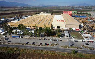 Το εργοστάσιο της Ελληνικά Καλώδια Α.Ε. στη Θήβα. Φωτ. cenergyholdings.com